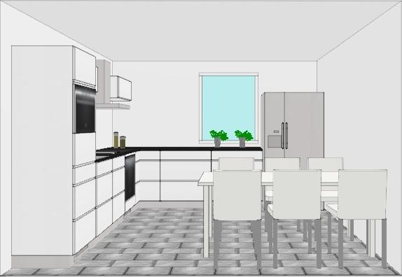 U mallinen keittiö – Rakentaminen talonsa