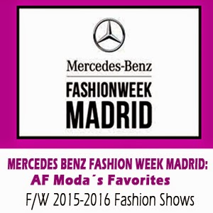 Mercedes Benz Fashion Week Madrid 2015-2016