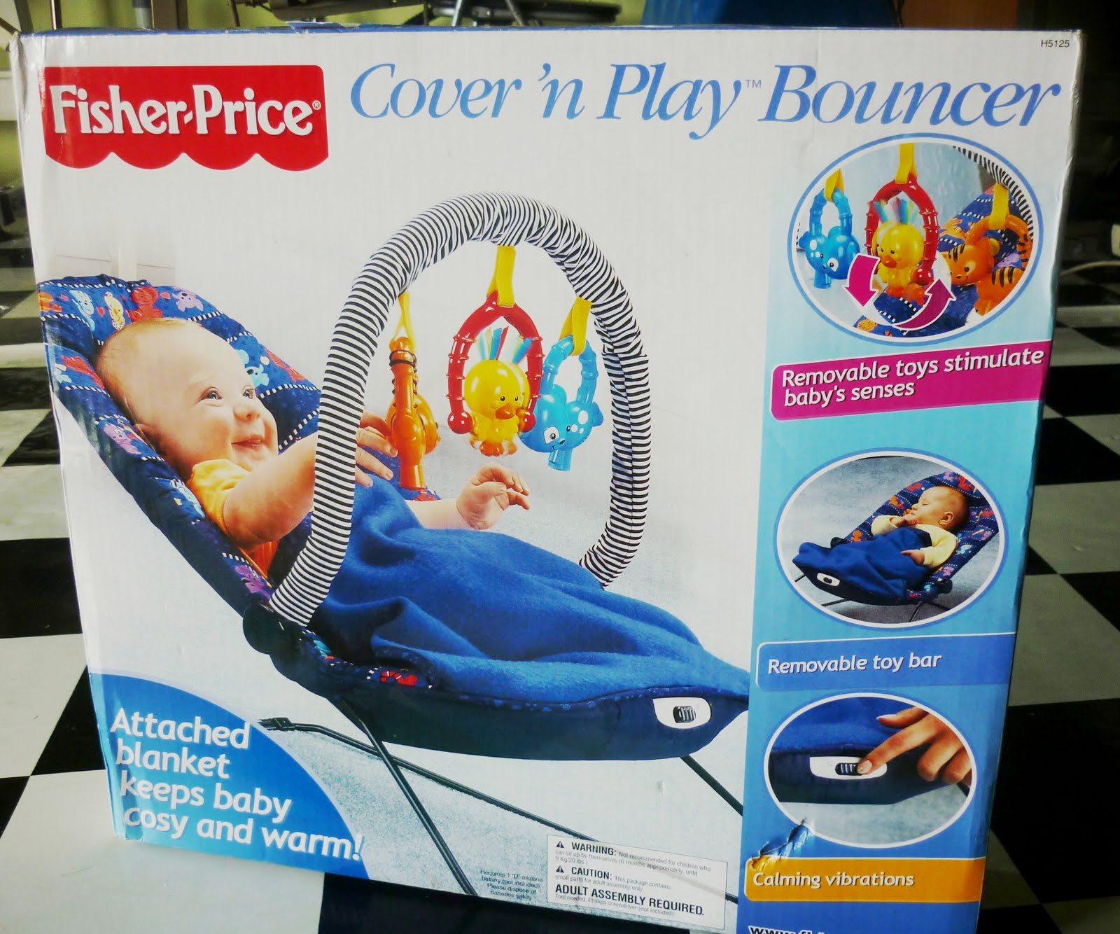 Mama Shop Papa Drop Fisher Price Cover N Play Baby Bouncer