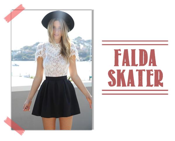 Falda Skater Patinadora