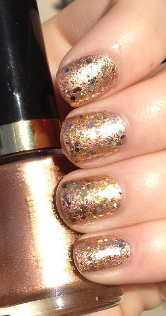 Revlon Copper Penny Hit Polish Precious Metal
