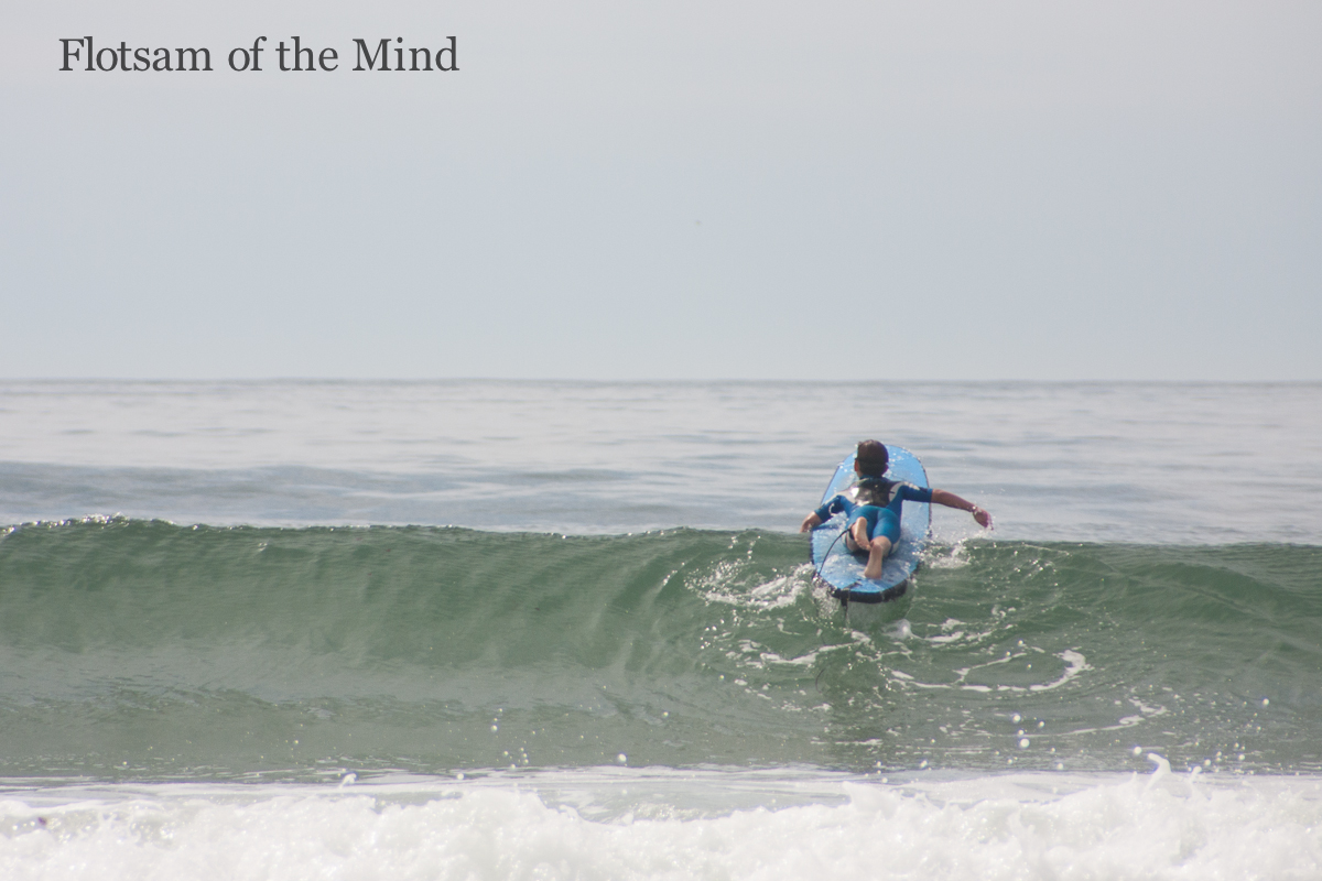 Paddling Out - Flotsam of the Mind