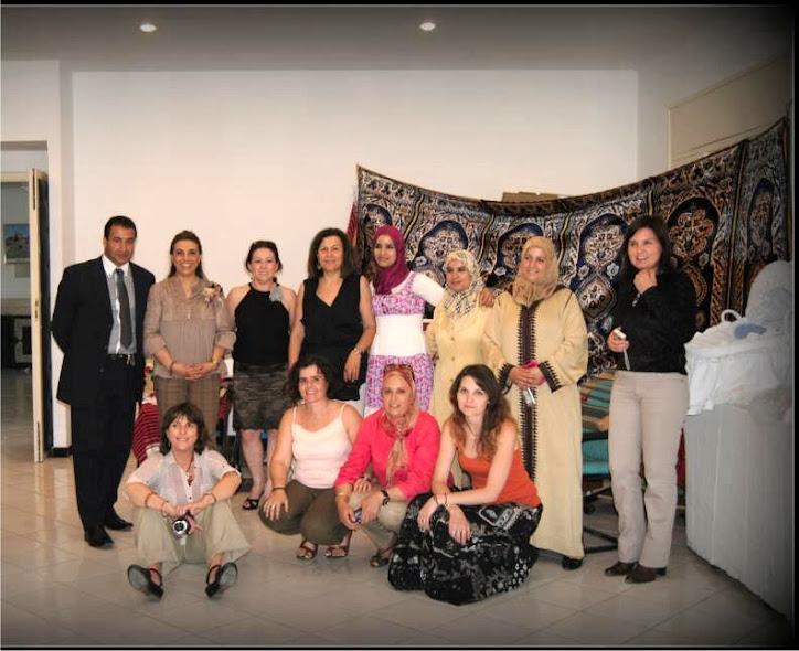 Foto del grupo de mujeres artesanas