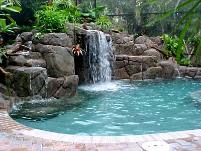 Pool House Designs on Just Add Some Tropical Things To Make Your Swimming Pool Fells More