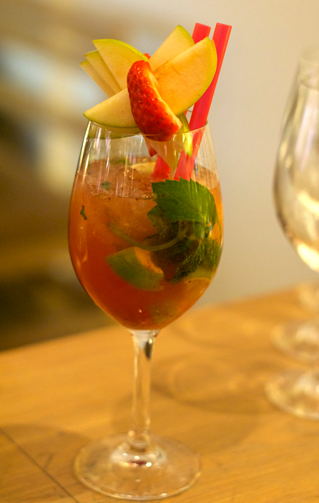 Vapiano strawberry mojito