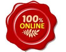 Perkhidmatan 100% Online