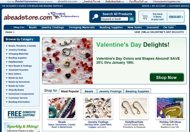 AbeadStore.com - Handmade Beaded Jewelry Stores