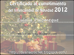 CERTIFICADO INTERCAMBIO 2012  POR DAIANA
