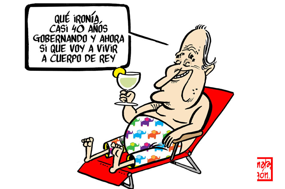 rey,abjudicación,Juan Carlos,viñetas