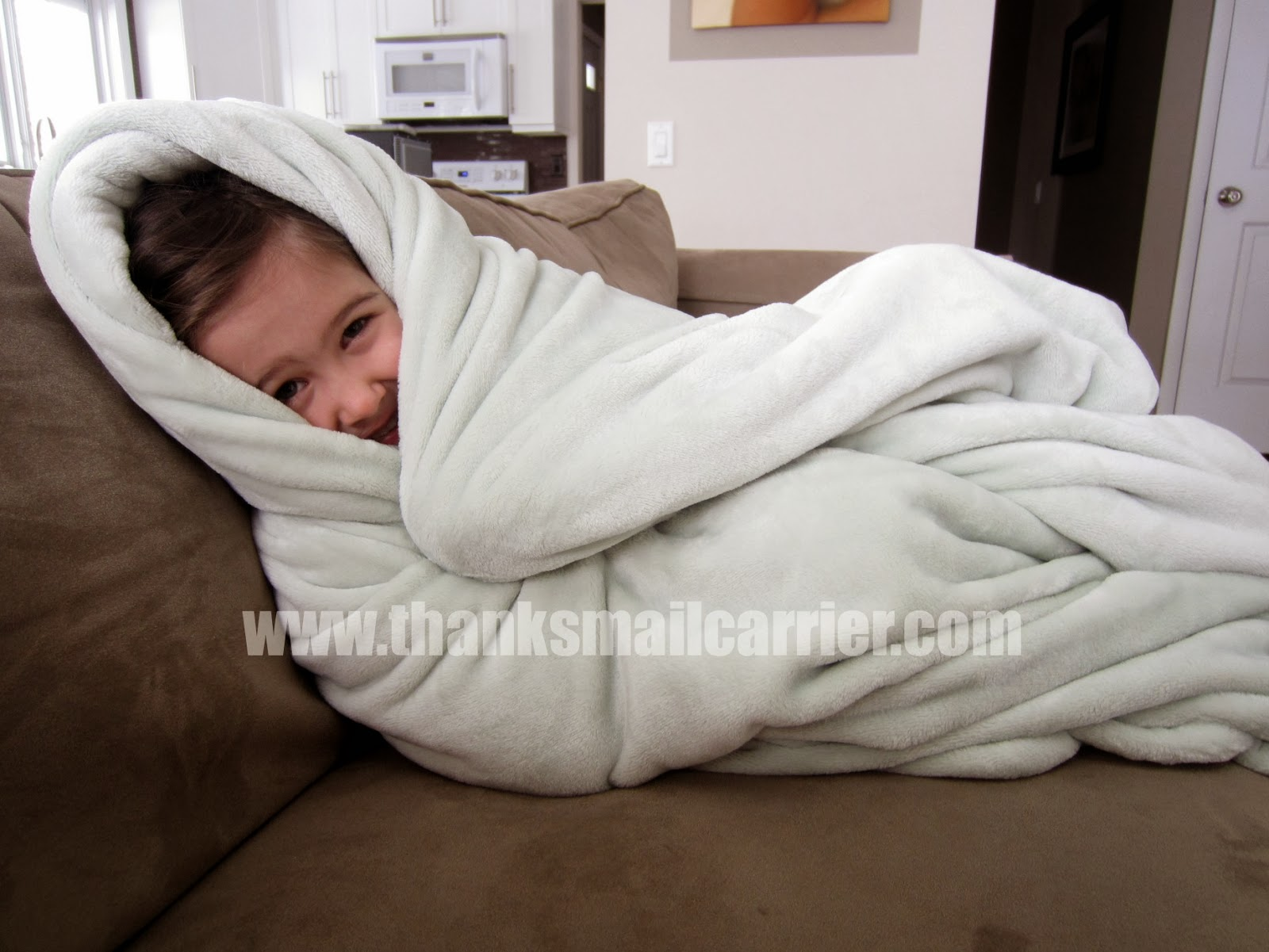 softest plush blanket