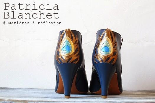 Bottines Patricia Blanchet Gwynette bleu
