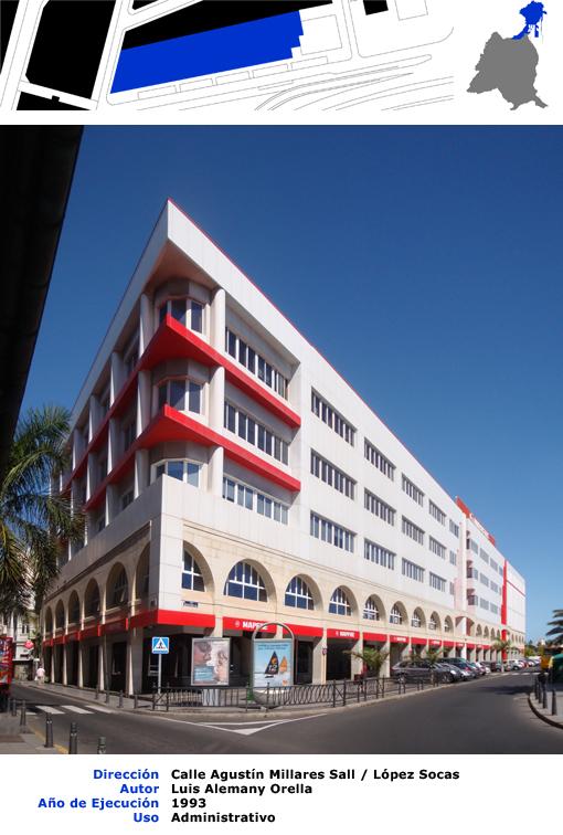 Edificios de las palmas de gran canaria edificio de for Oficinas mapfre las palmas