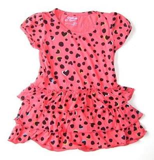 dresstutuobpinklovepolkadot Model Baju Dress Anak Perempuan 2014