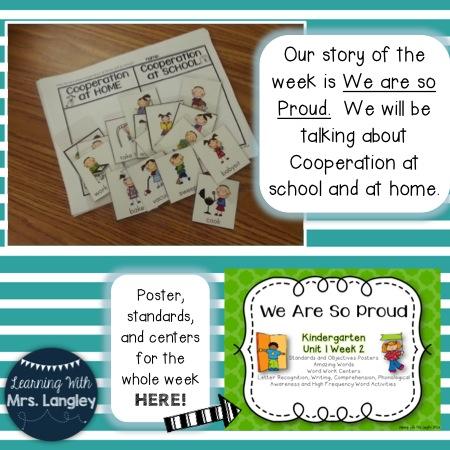 https://www.teacherspayteachers.com/Product/We-Are-So-Proud-Kindergarten-Unit-1-Week-2-1224395