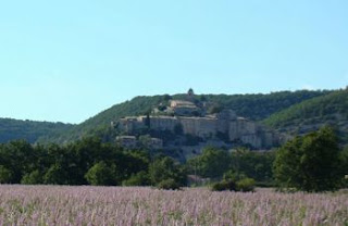 The village of Banon in Haute Provence