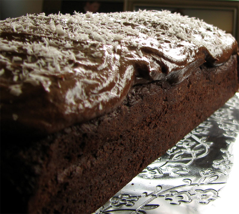 cake with milk chocolate frosting pam corbin s chocolate cake recipes ...