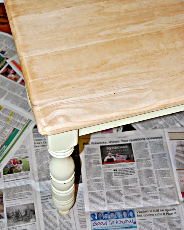 painting furniture, how to paint a table, table re-do