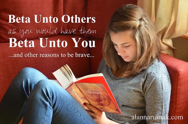 be the kind of beta reader to other's you'd want them to be to you
