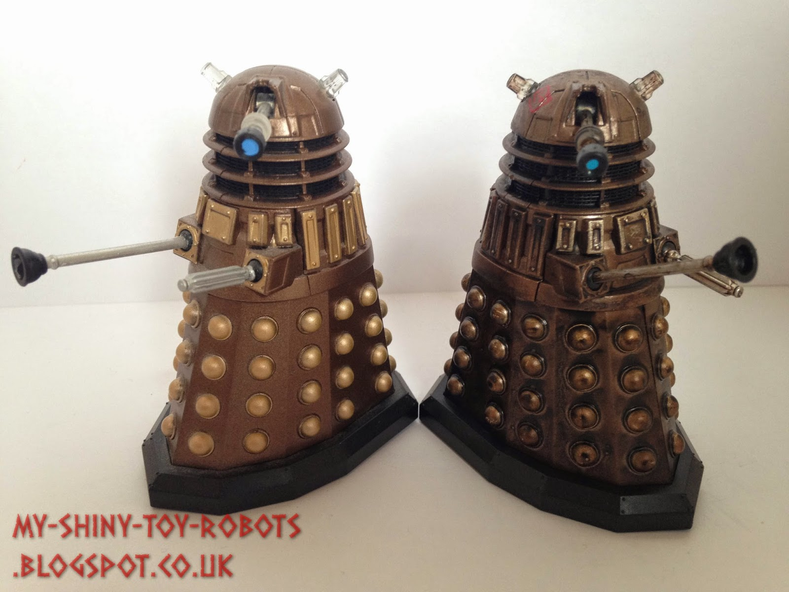 With the standard Dalek figure