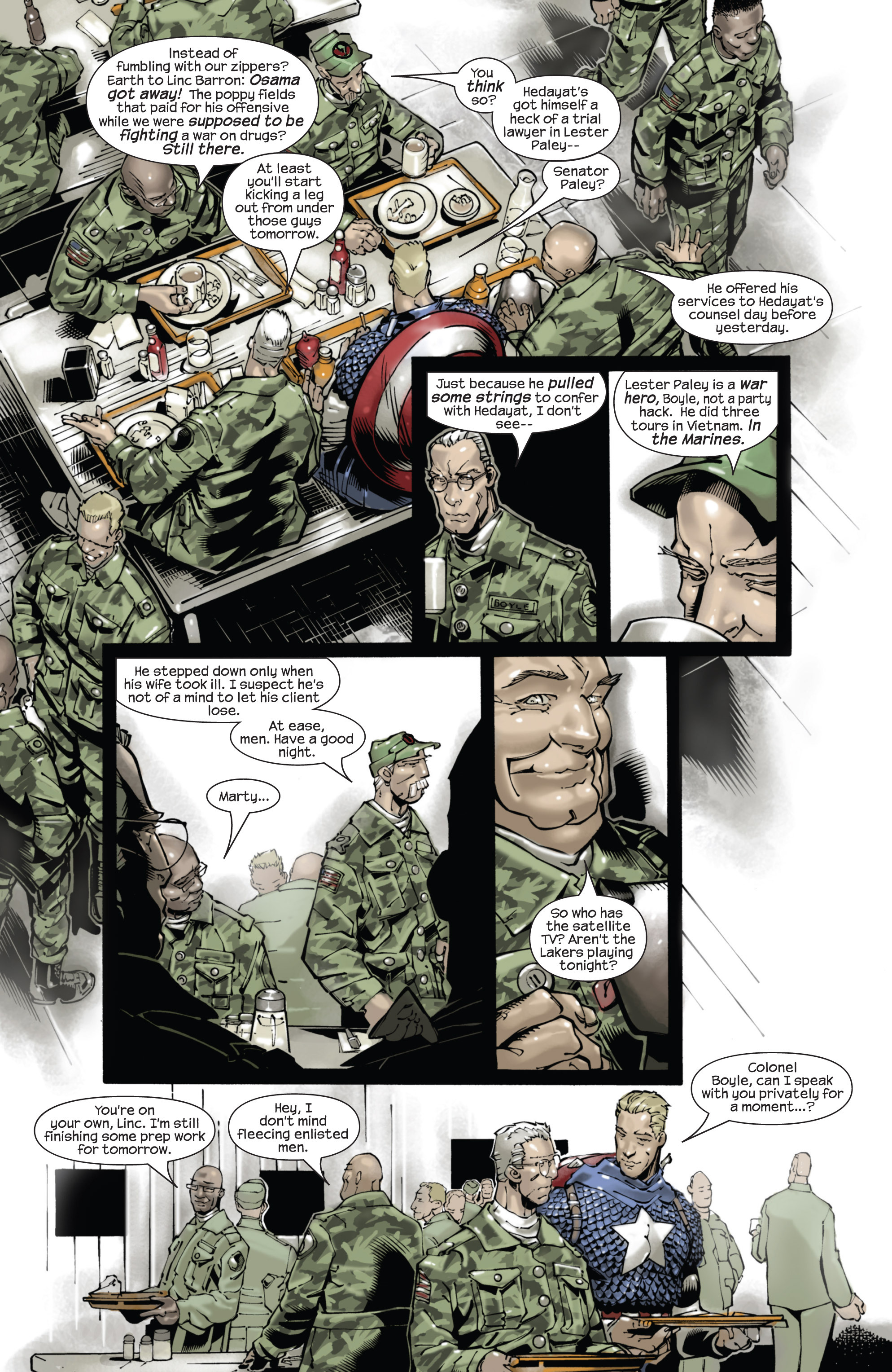 Captain America (2002) Issue #22 #23 - English 14