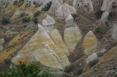 Paisaje de la Capadocia