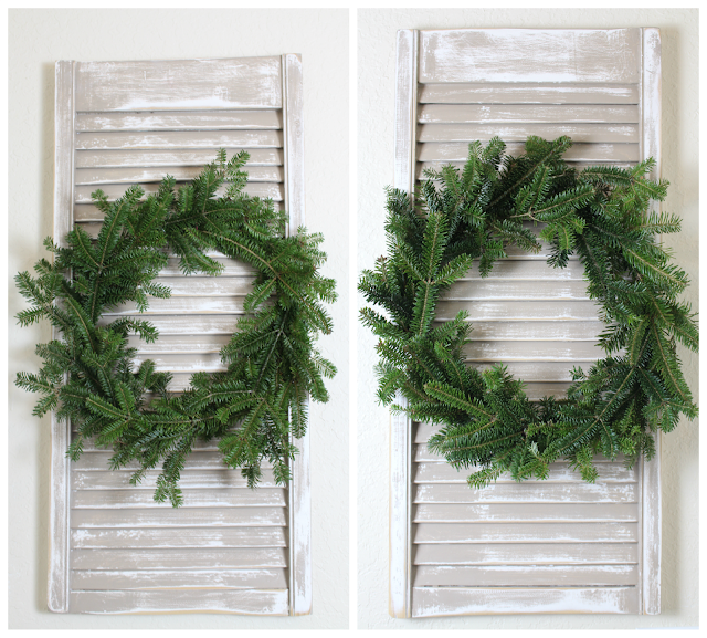 Natural wreath for Christmas
