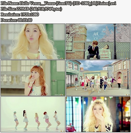 Download MV Hello Venus - Venus (GomTV Full HD 1080p)
