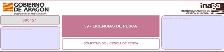 LICENCIA PESCA ARAGÓN ON-LINE