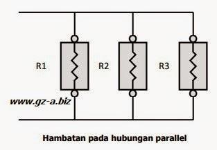 Hambatan Rangkaian Parallel