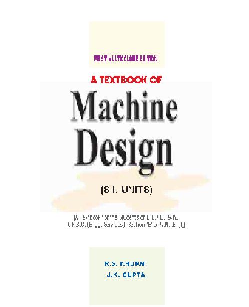 machine design engineering