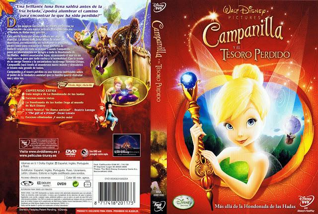 Campanilla Y El Tesoro Perdido DVD