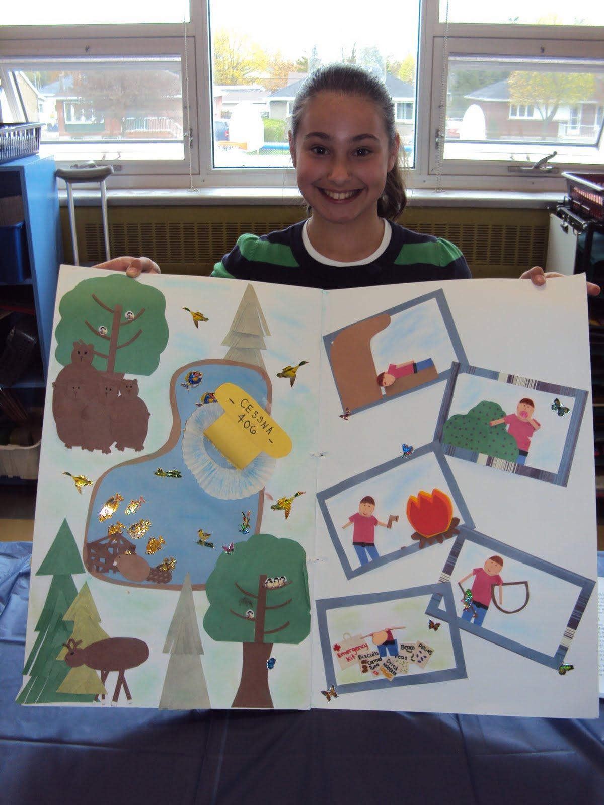 Hatchet Book Activities Hatchet Book Project Ideas