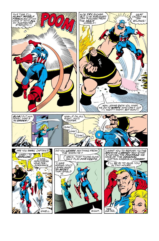 Captain America (1968) Issue #333 #262 - English 22