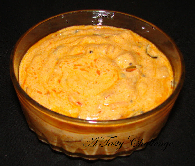 Thakkali Pachadi/ Tomato in Yogurt