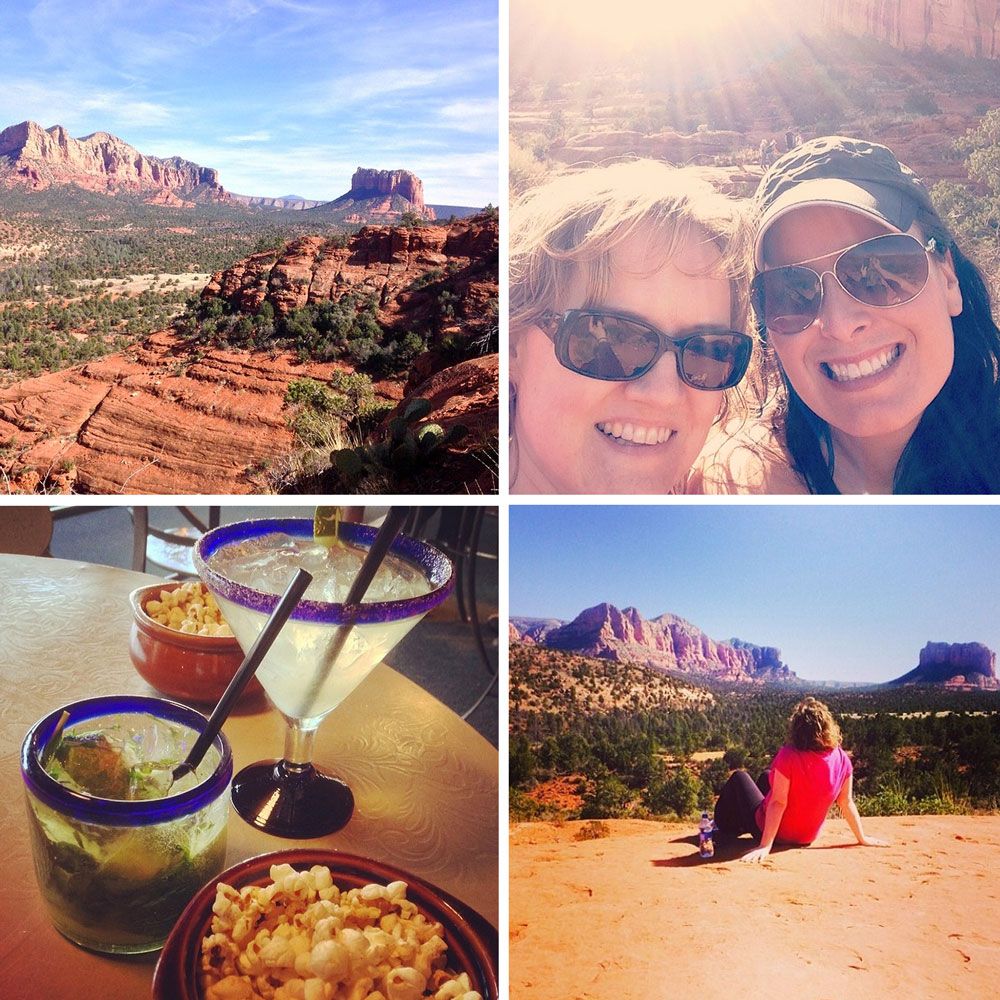Sedona Getaway with Barefeet In The Kitchen