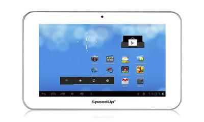 SpeedUp Pad SLIM - Spesifikasi Tablet Android Ice Cream Sandwich 7 inch - Berita Handphone
