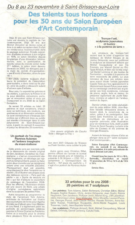 Le Journal de Gion-France Jueves 6-11-08(articulo)