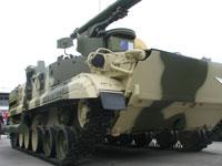 Боекомплект ПТРК «Хризантема-С» состоит из четырех типов ПТУР в ТПК: 9М123 с наведением по лазерному лучу и 9М123-2 с наведением по радиолучу, с надкалиберной тандемно - кумулятивной БЧ и ракет 9М123Ф и 9М123Ф2