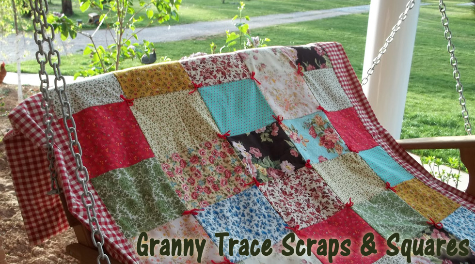 Granny Trace Scraps &amp; Squares