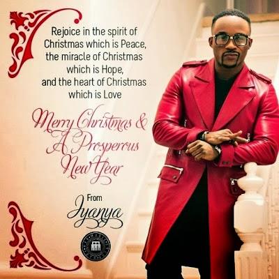 Iyanya Reveals Christmas Card