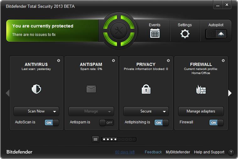 Pendekar Pasuruan: BitDefender Total Security 2013 + Lifetime Activator-(x32/x64)