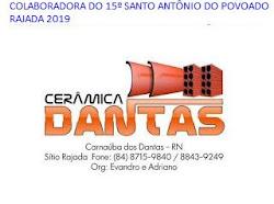 PUBLICIDADE: CERÂMICA DANTAS RAJADA