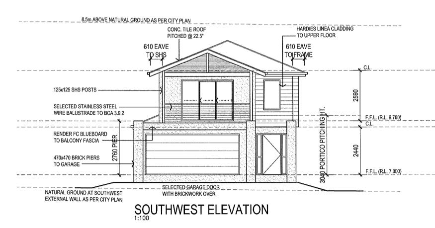 Plan Elevation Label : Front balcony elevation joy studio design gallery best
