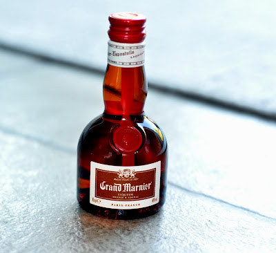 50ml Bottle of Grand Marnier - Photo by Michelle Judd of Taste As You Go