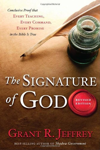The Signature Of God Paperback.