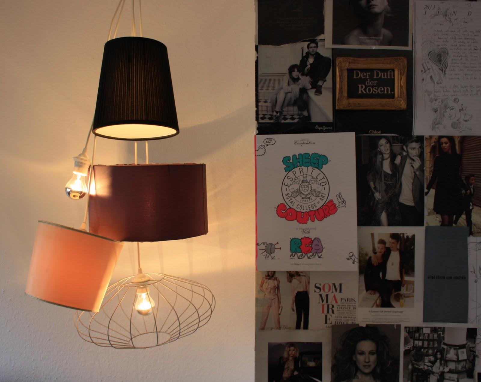 h ngeleuchte selbst gemacht. Black Bedroom Furniture Sets. Home Design Ideas