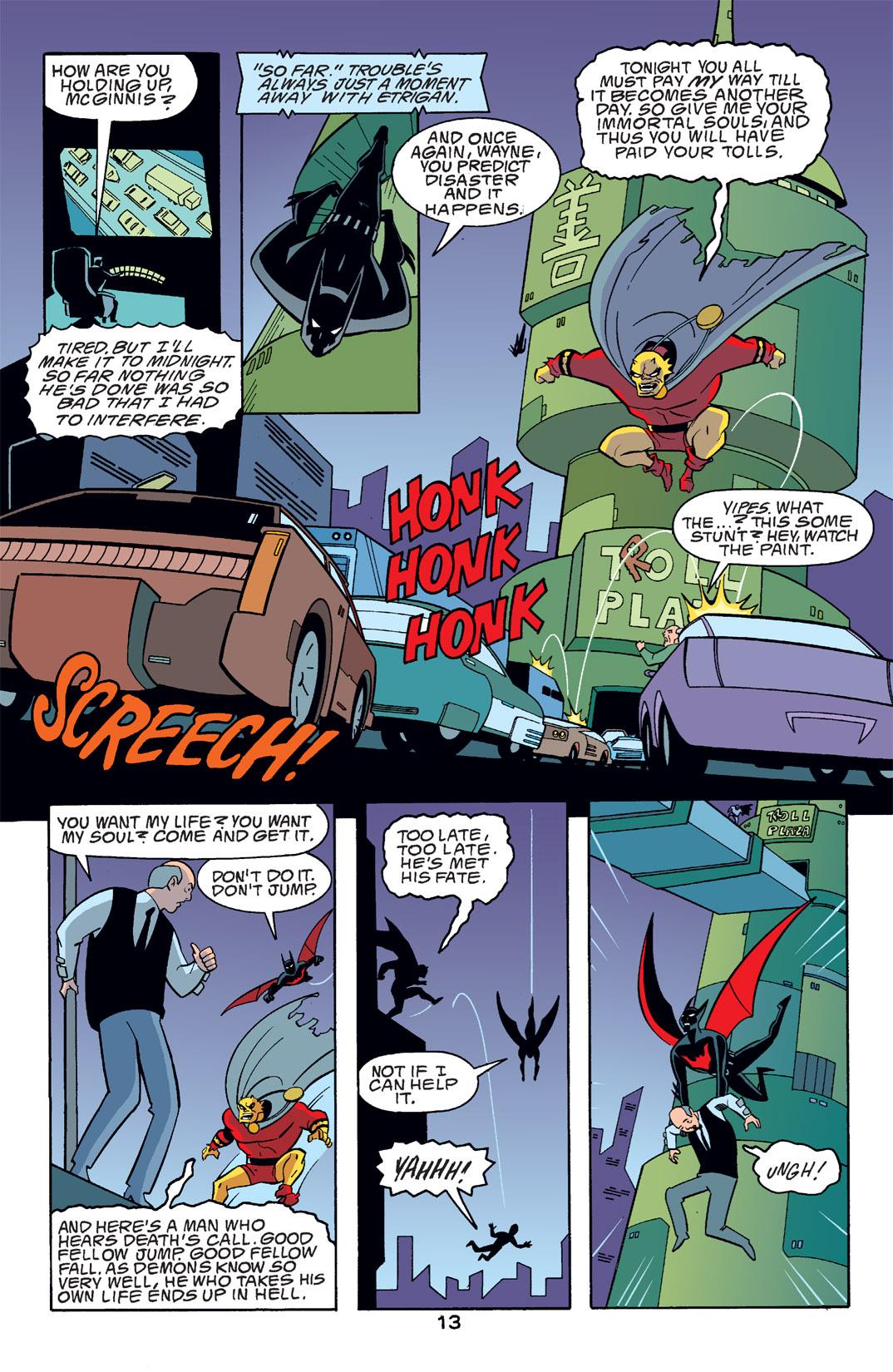 Batman Beyond [II] Issue #14 #14 - English 14