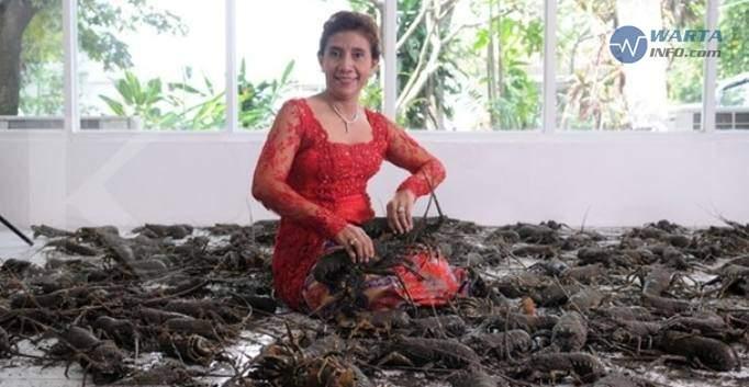 Foto gambar Susi Pudjiastuti Menteri Kelautan Dan Perikanan waktu jadi pengepul ikan