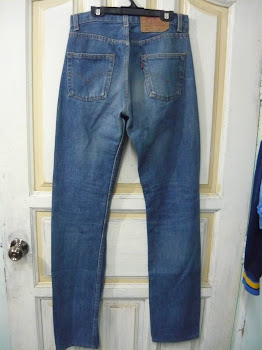 Levis 501 made in UK sz 28 RM 95