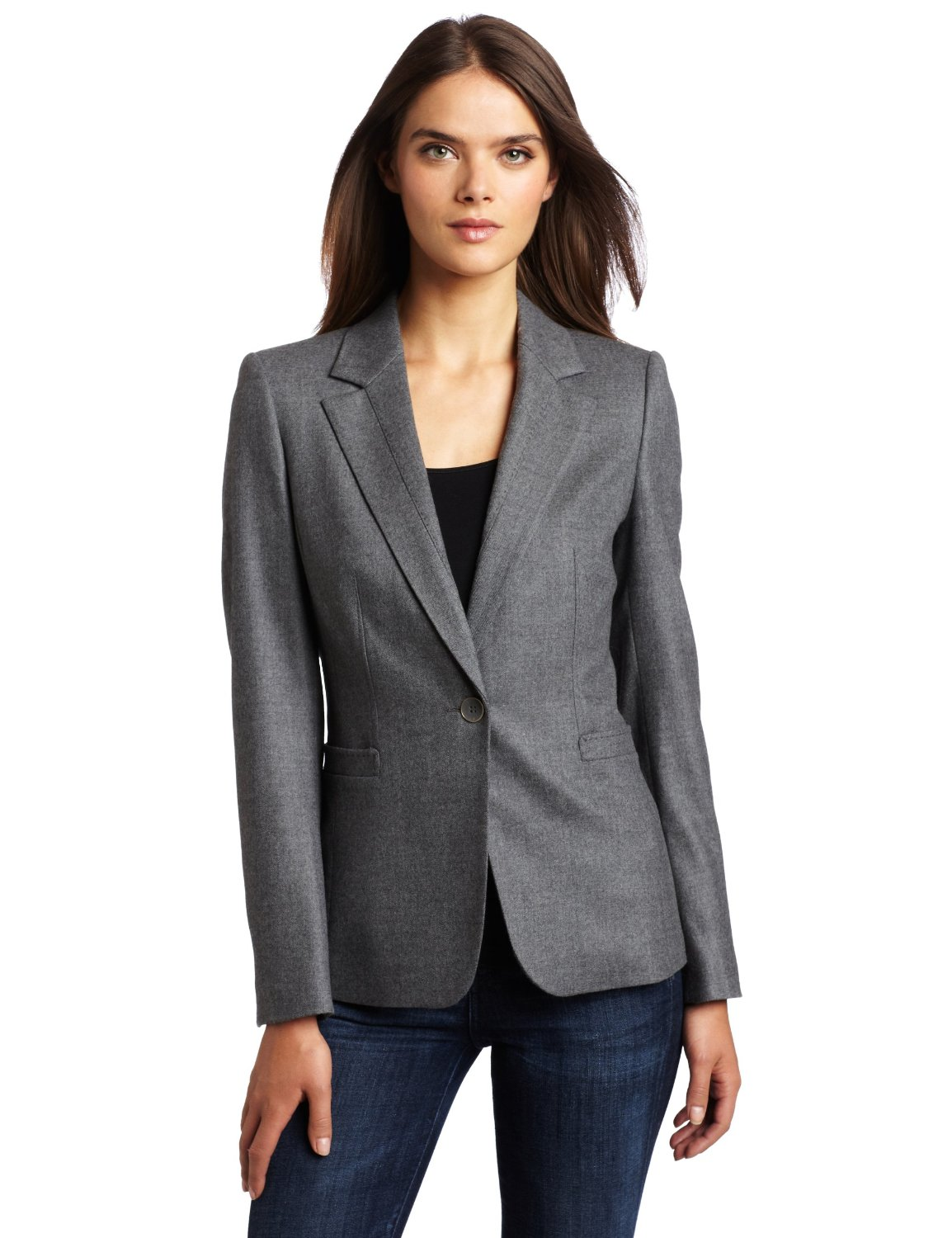 Women's jackets have evolved over the years, and menswear inspired jackets are all the rage. Get the androgynous look with statement double-breasted jackets or .